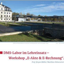 DMS-Labor – im Lehreinsatz – E-Akte & E-Rechnung (PDV-Magazin 2018-II)